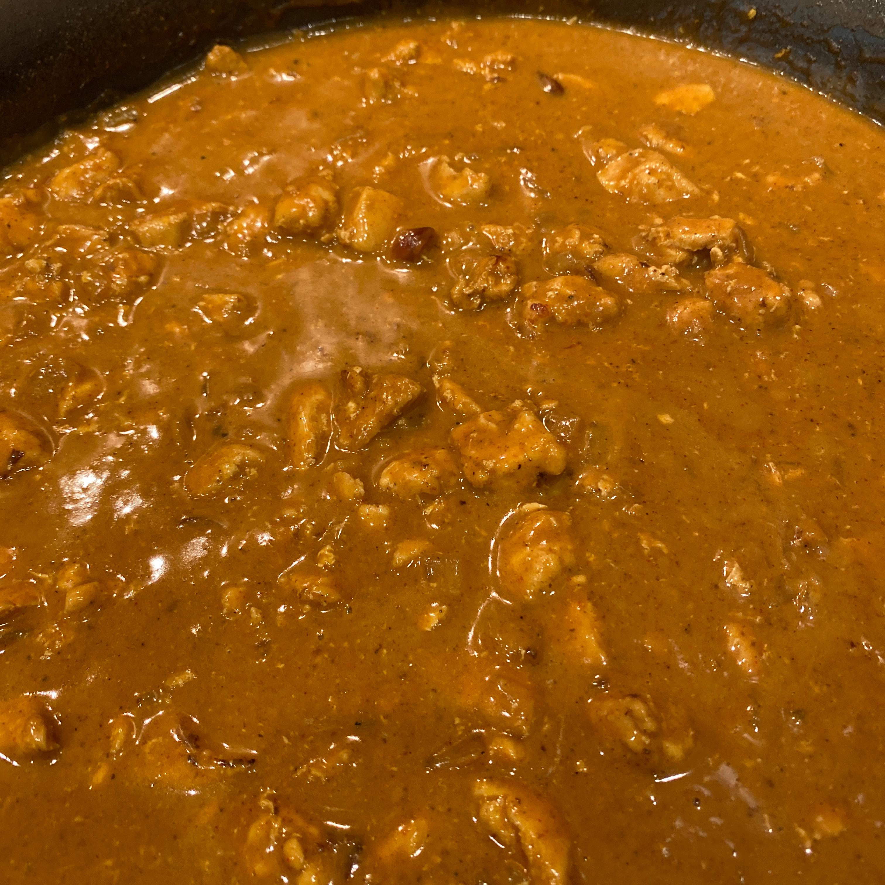 Chicken Papadoris Patti