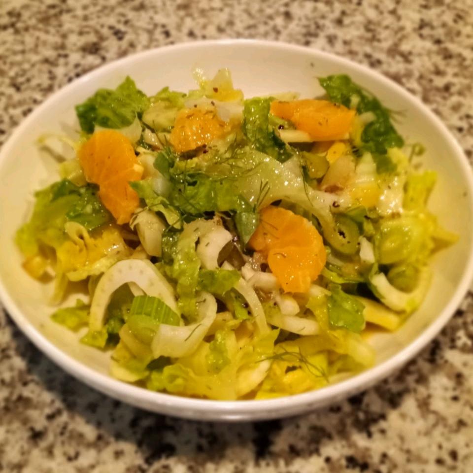 Fennel and Orange Salad Bryant McVey-Crawford