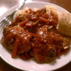 Coq au Vin alla Italiana Alice Shockley