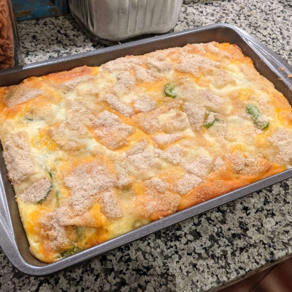 Zucchini Pepperjack Casserole Frances Smith
