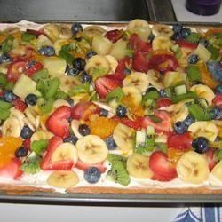 Fancy Fruit Pizza FROGHOPPER