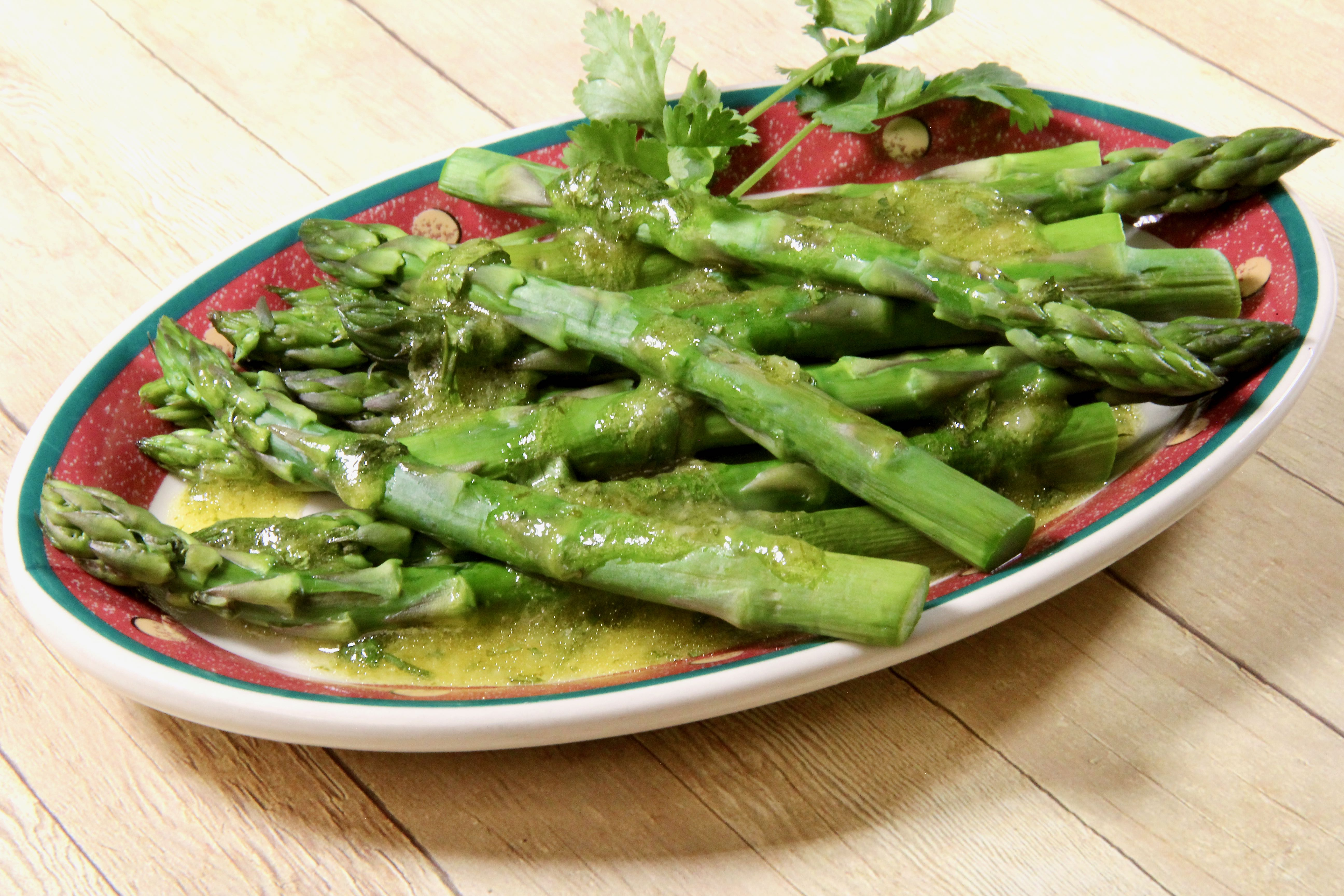 Asparagus with Lime and Ginger
