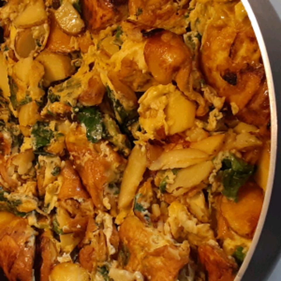 Nan's Potato and Egg Frittata Enza Mirotta Scalia