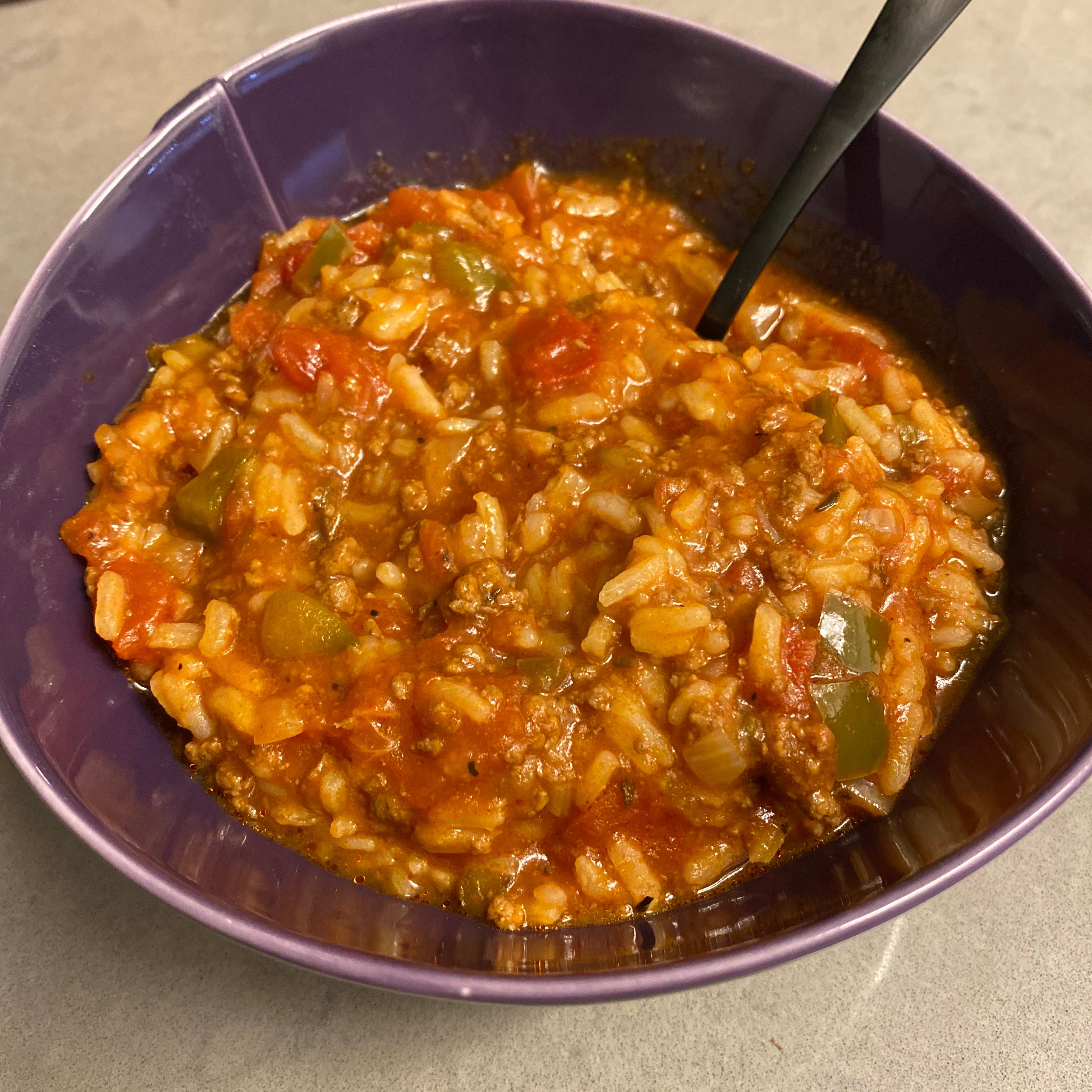 Stuffed Pepper Soup IV Drake Kohn