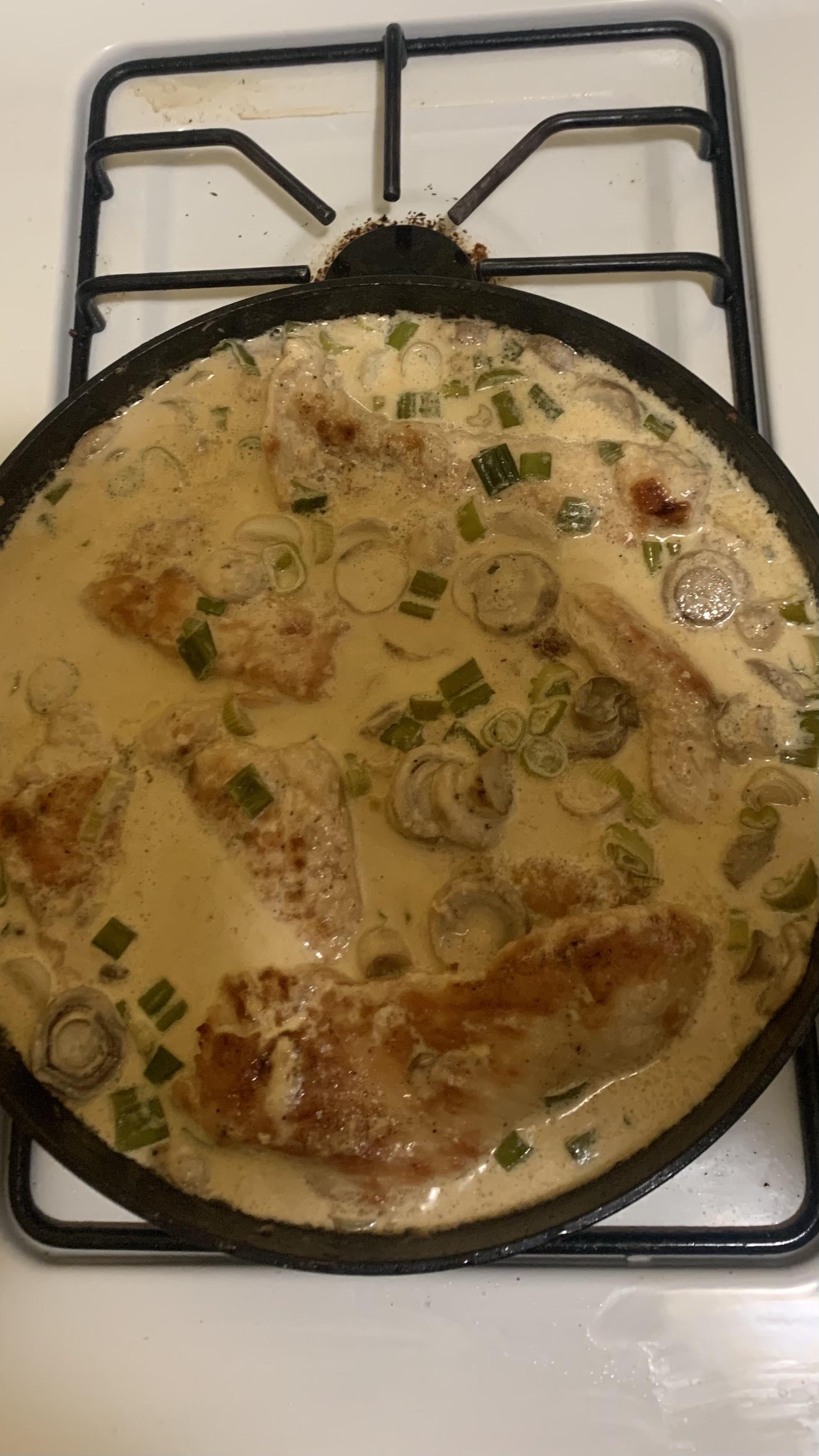 Mushroom Chicken Dijon rmpenate