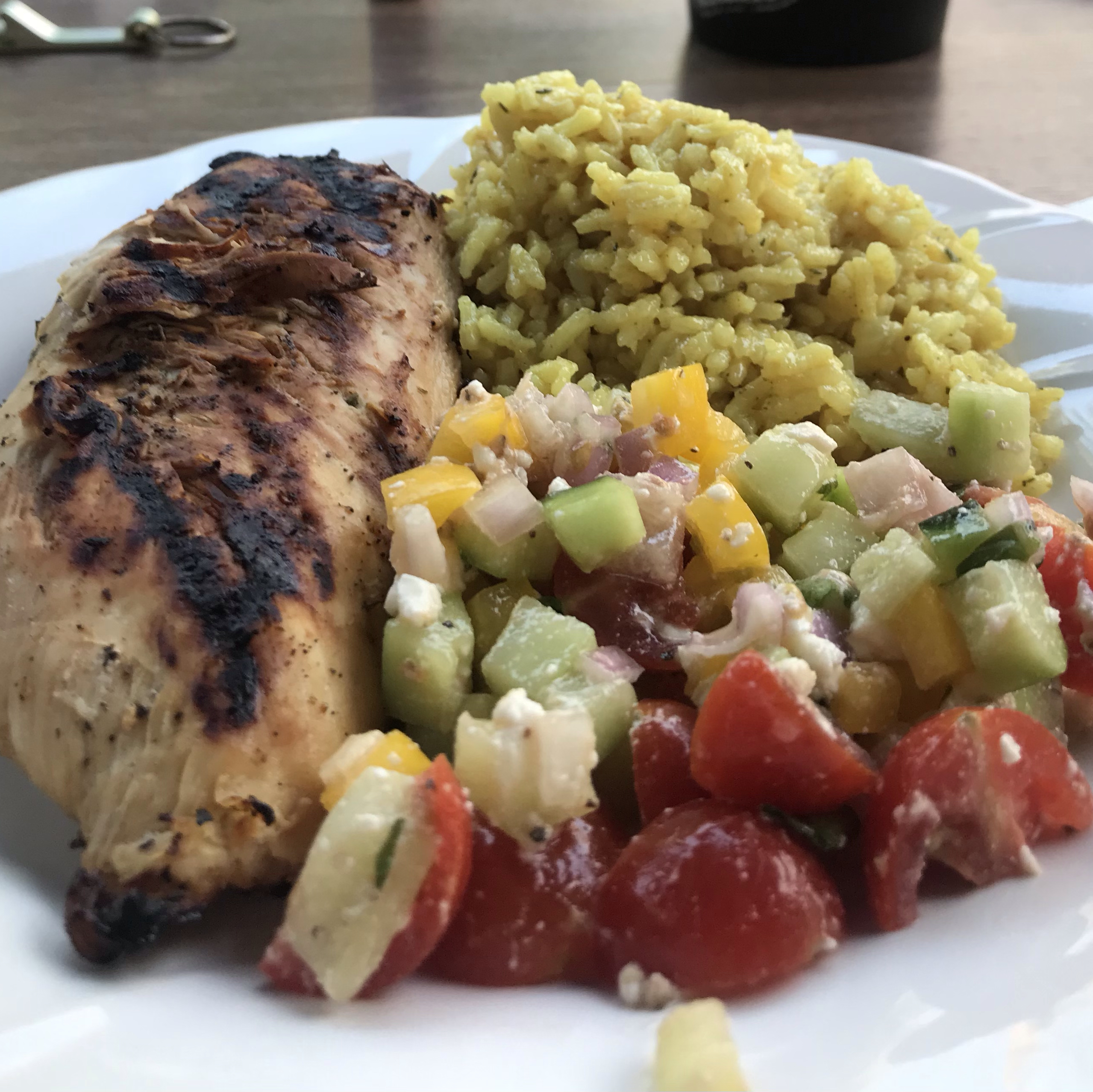 Tropical Grilled Chicken Breast Marti