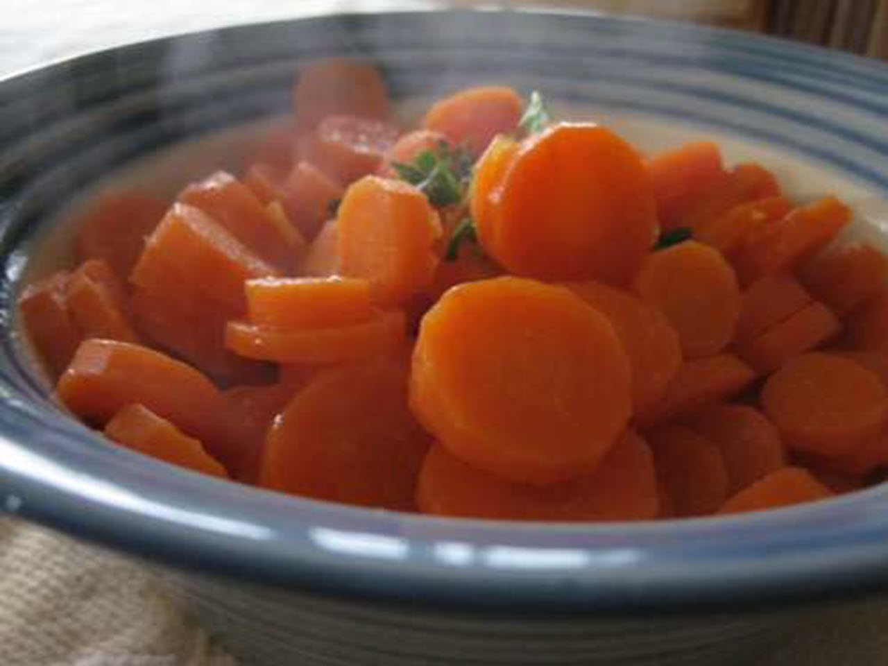 Sauteed Carrots with Borage