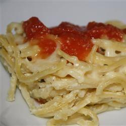 Simple Spaghetti Pie