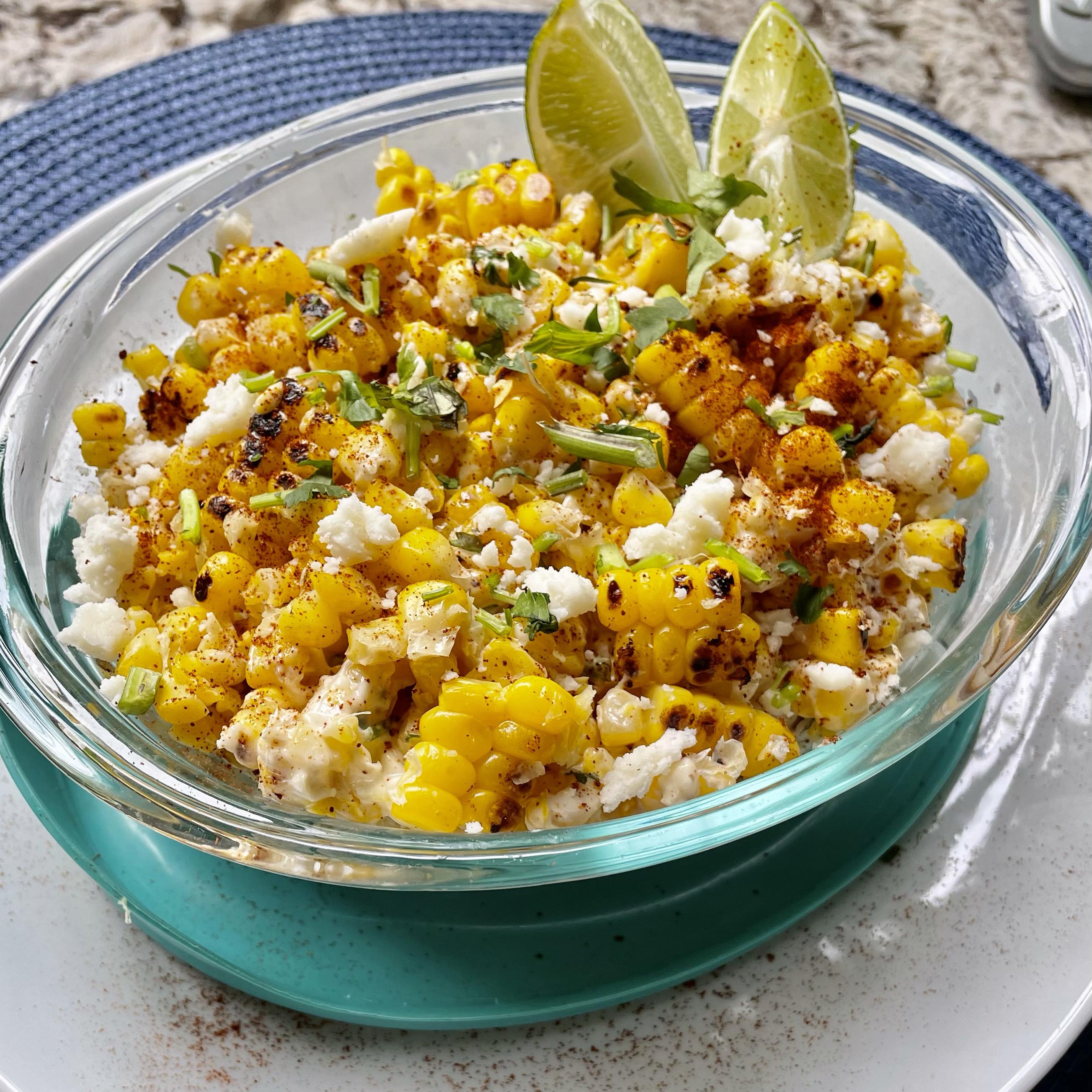 Mexican Corn-off-the-Cob Salad