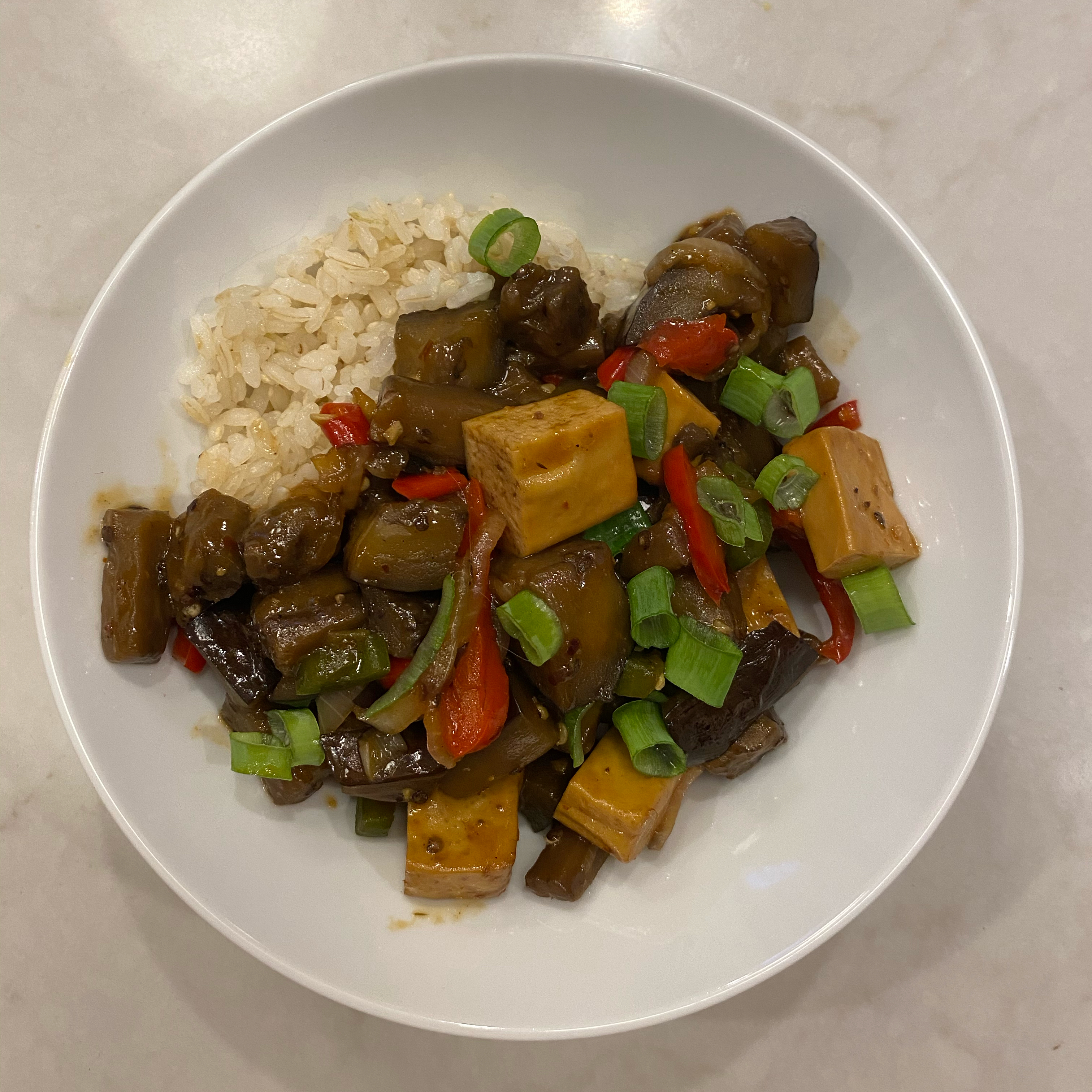 Hot and Sour Chinese Eggplant
