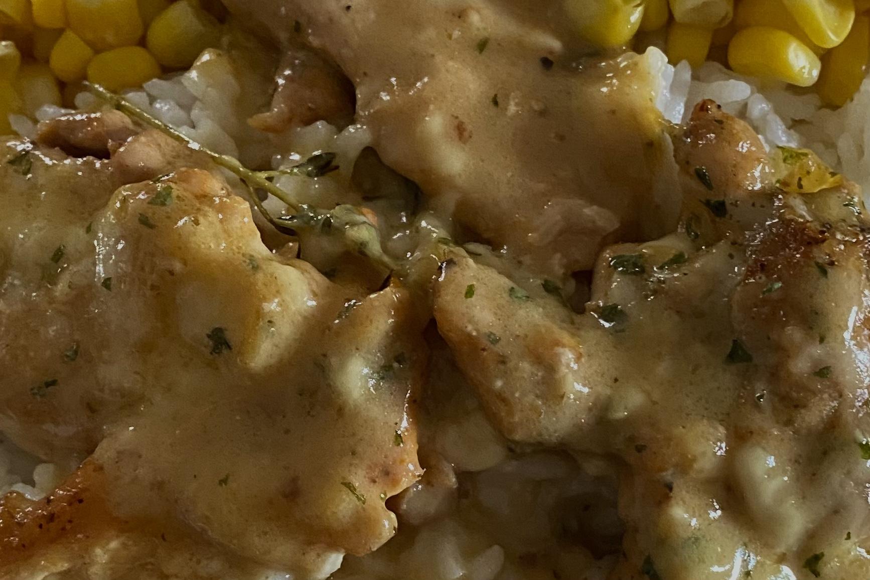 Creamy Lemon Chicken Thighs Leslie J Valeriano Coronado