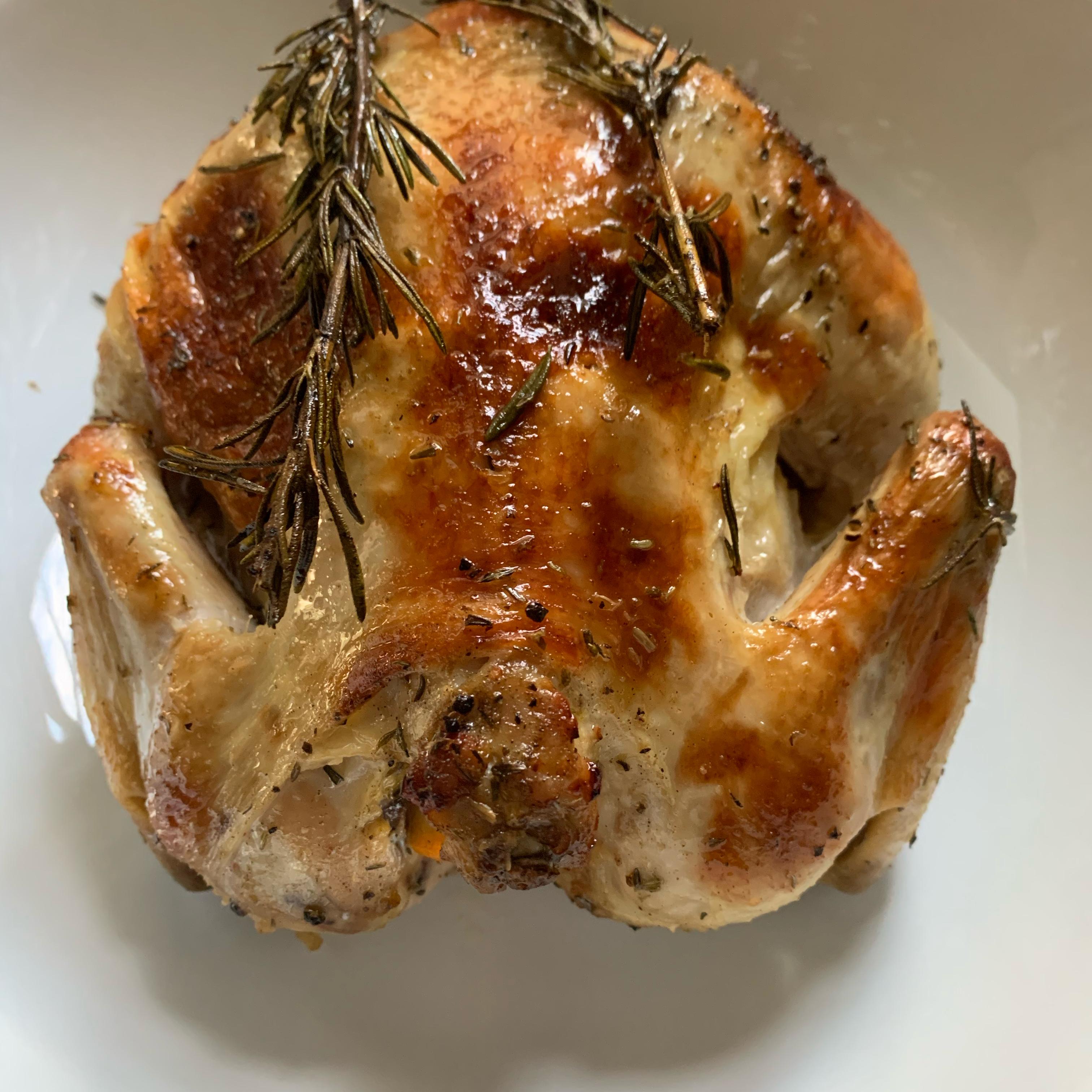 Orange Herb Roasted Chicken RunnerSue