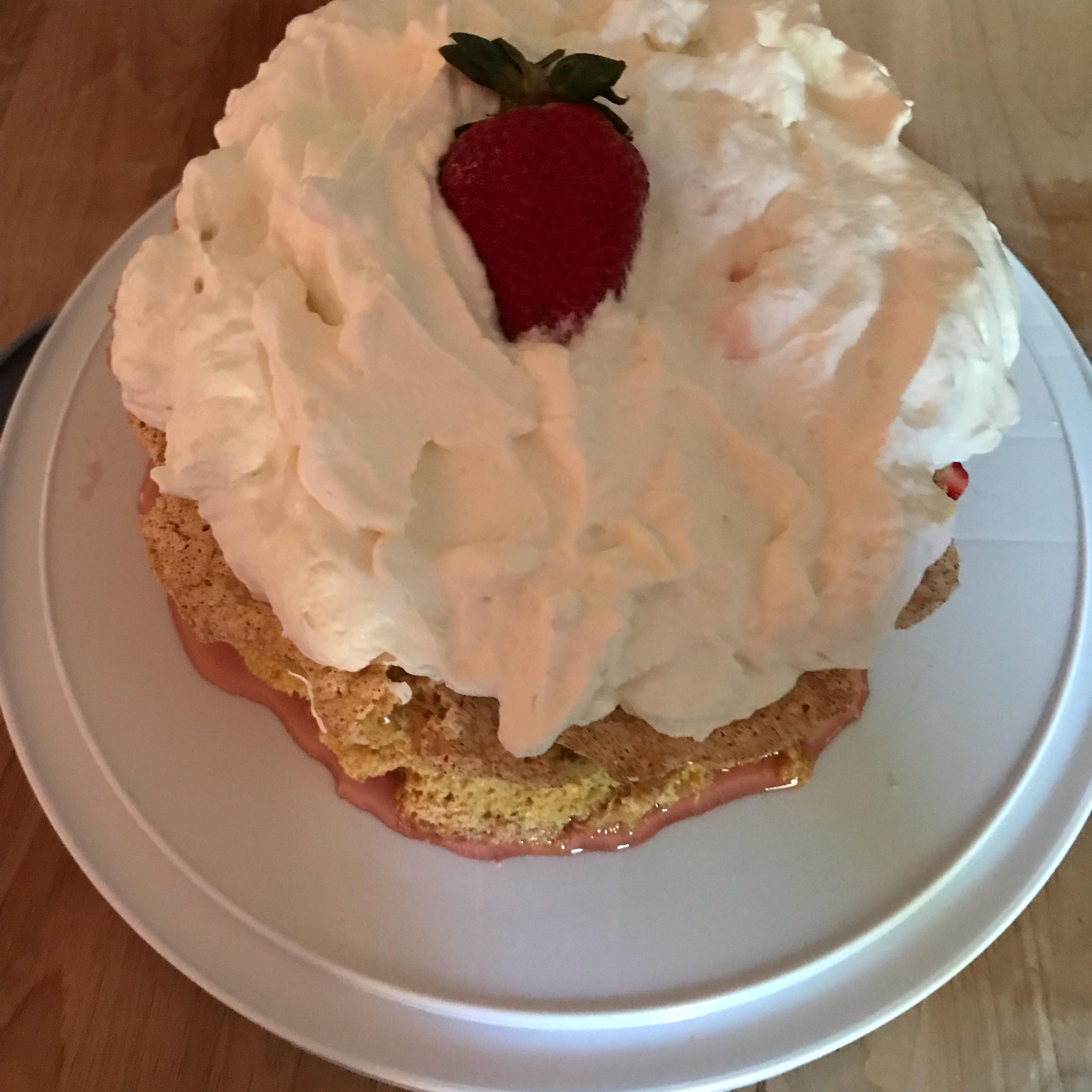 Petra's Strawberry Shortcake