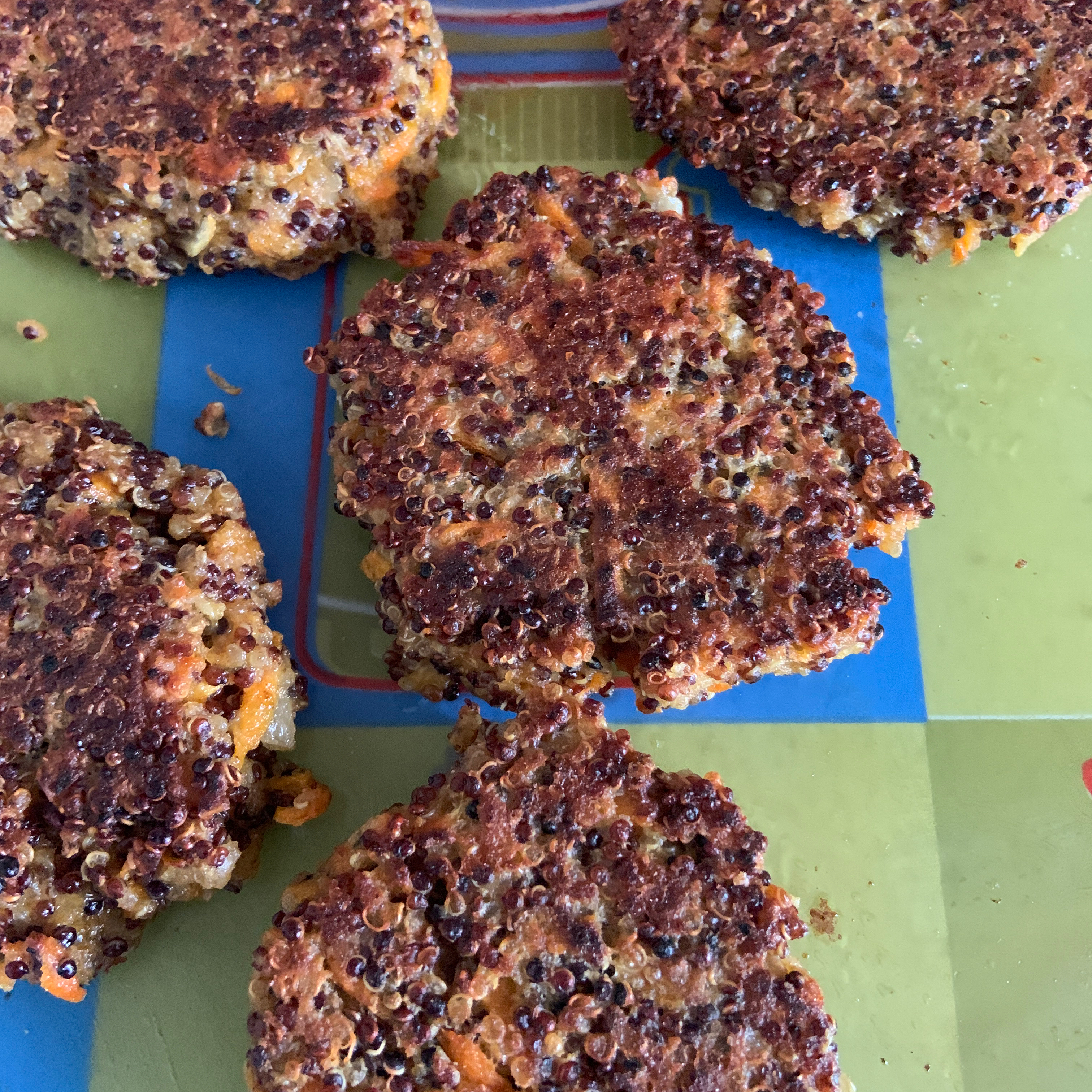 OMG! Quinoa Patties