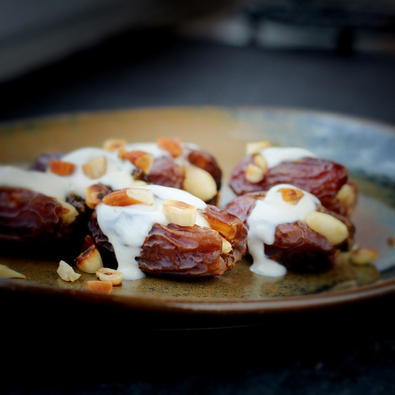 Stuffed Dates for Ramadan