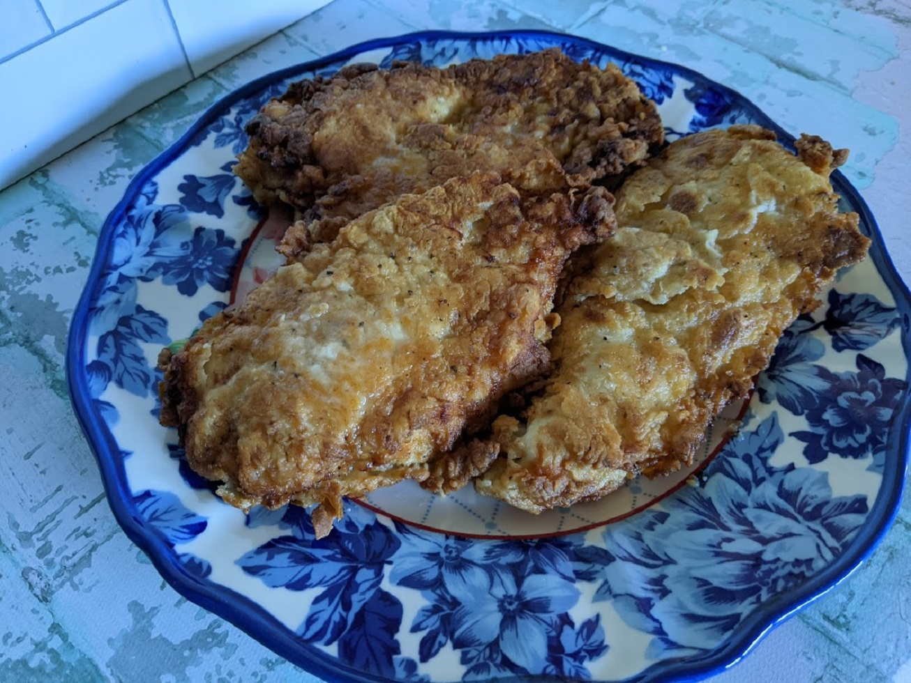Easy Oven-Finished Fried Chicken