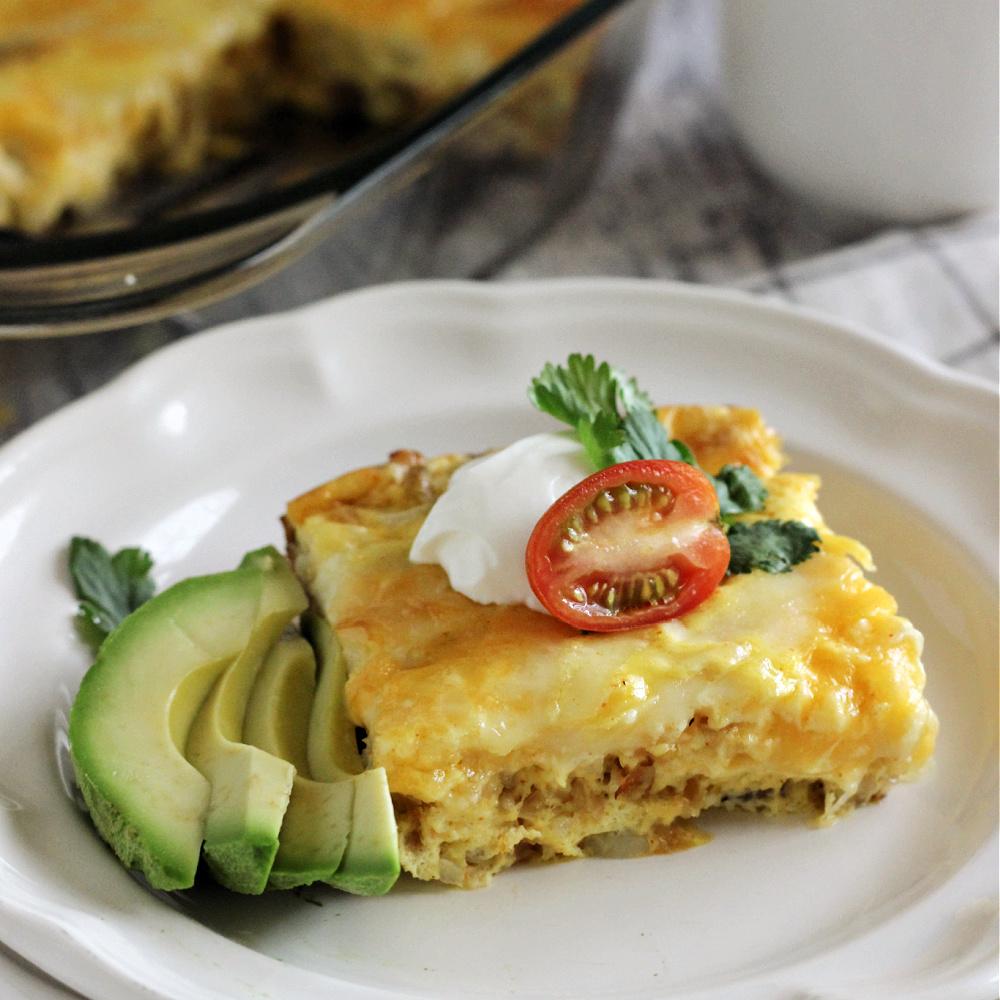 Mexican-Style Breakfast Casserole