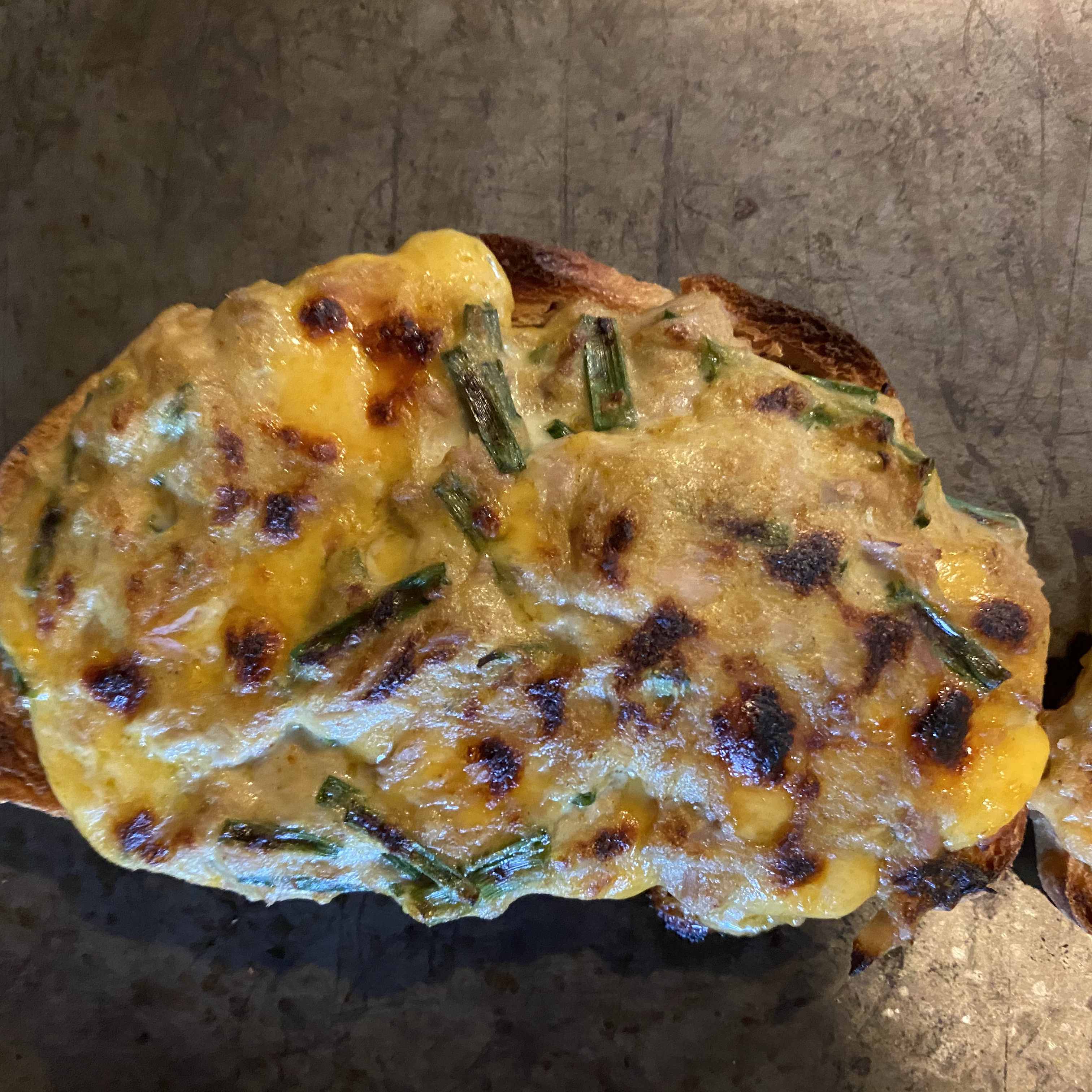 Hot Curried Tuna Sandwiches Karister