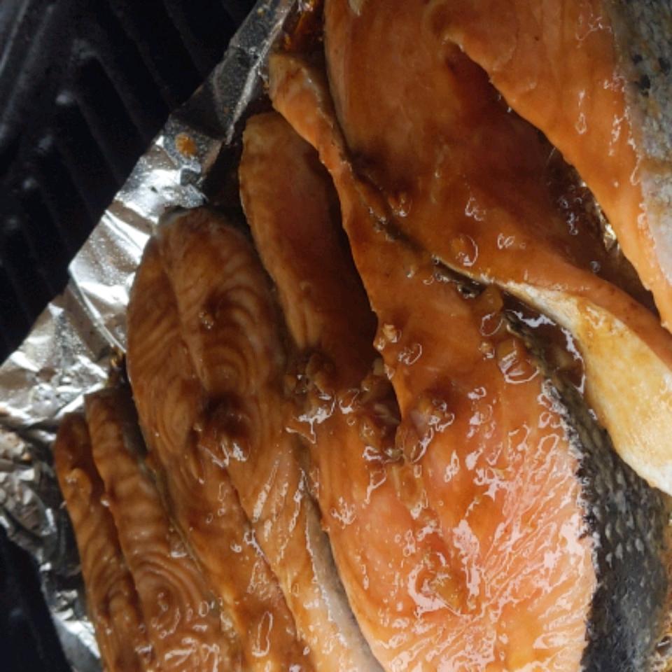 Grilled Salmon Kyoto Marc Gallo