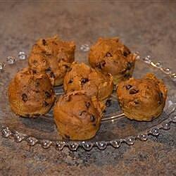 mini chocolate chip pumpkin muffins recipe
