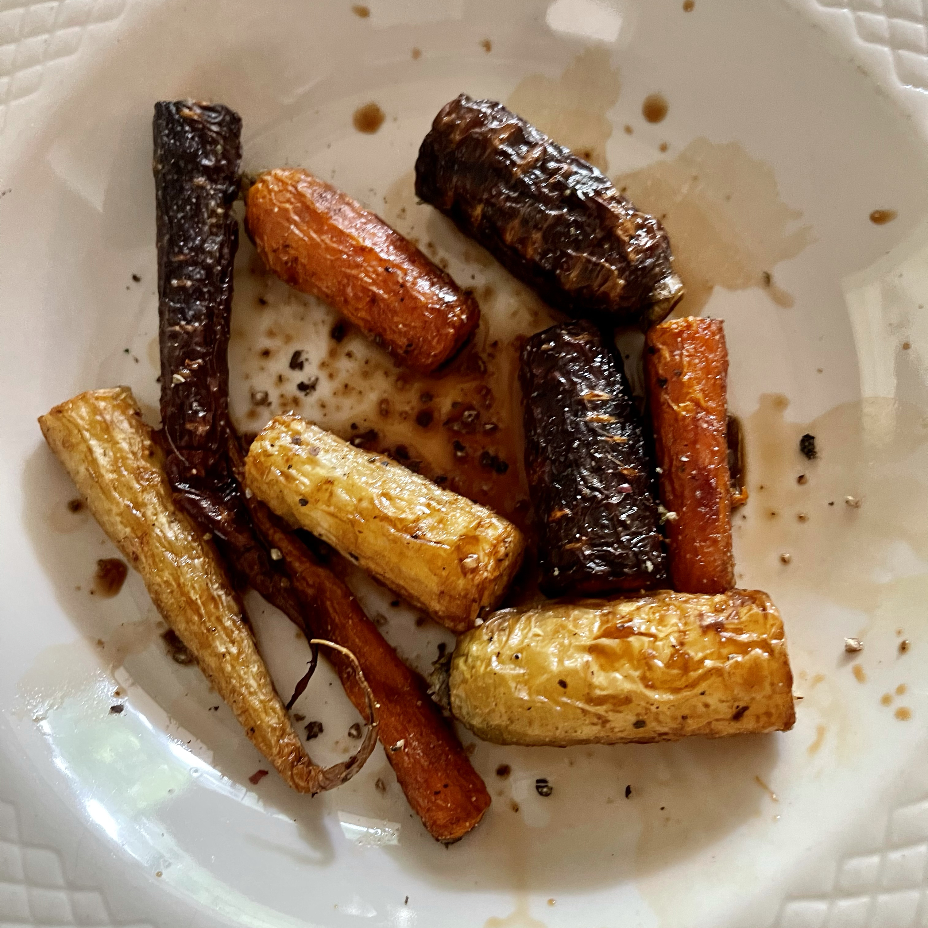 Balsamic Roasted Carrots Paige Byers Southard