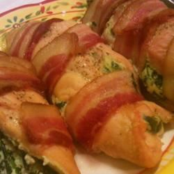 Bacon-Wrapped Chicken Stuffed with Spinach and Ricotta secondbeach
