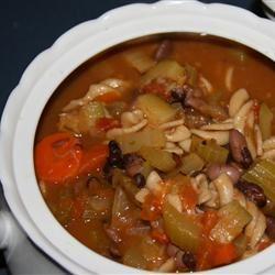 Vegan Italian Vegetable Soup