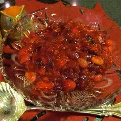 Apricot/Cranberry Chutney Sherbg