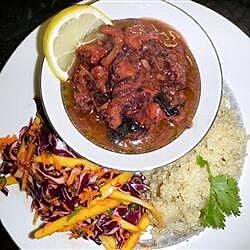 caribbean stewed octopus recipe