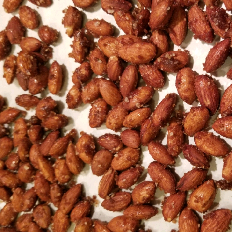 Sweet and Spicy Almonds Dot Egerton