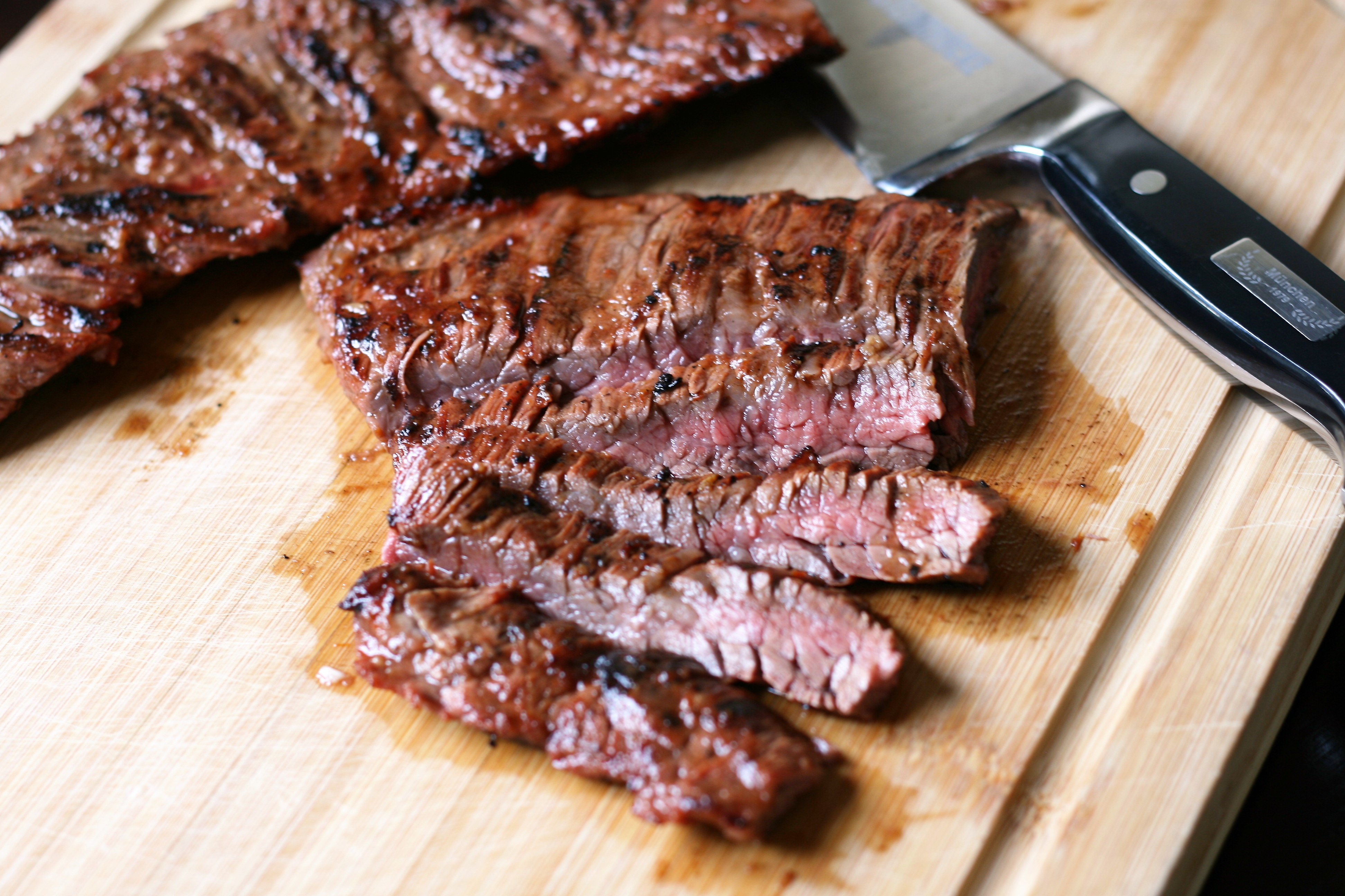 Asian Barbequed Steak