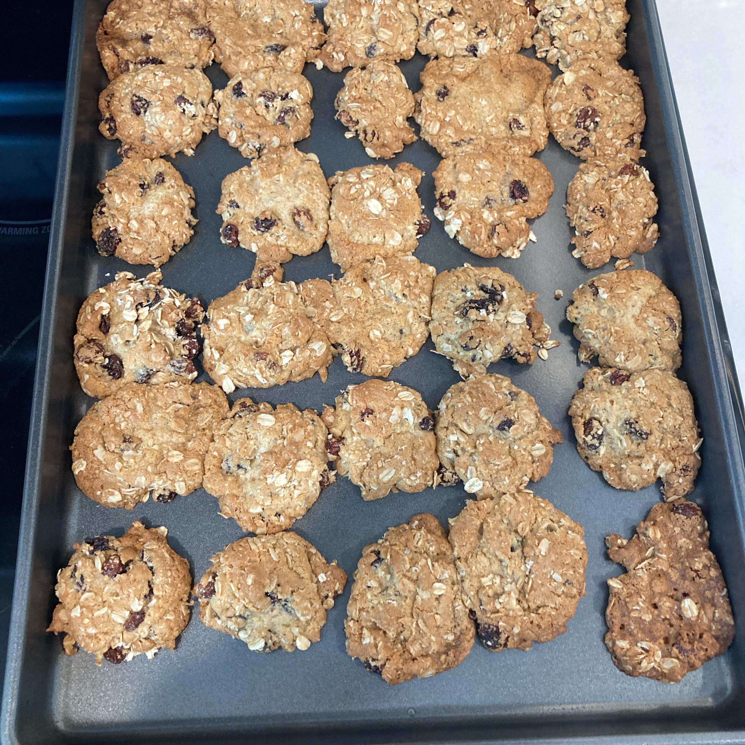 Oatmeal Raisin Cookies VII marvelmelodies