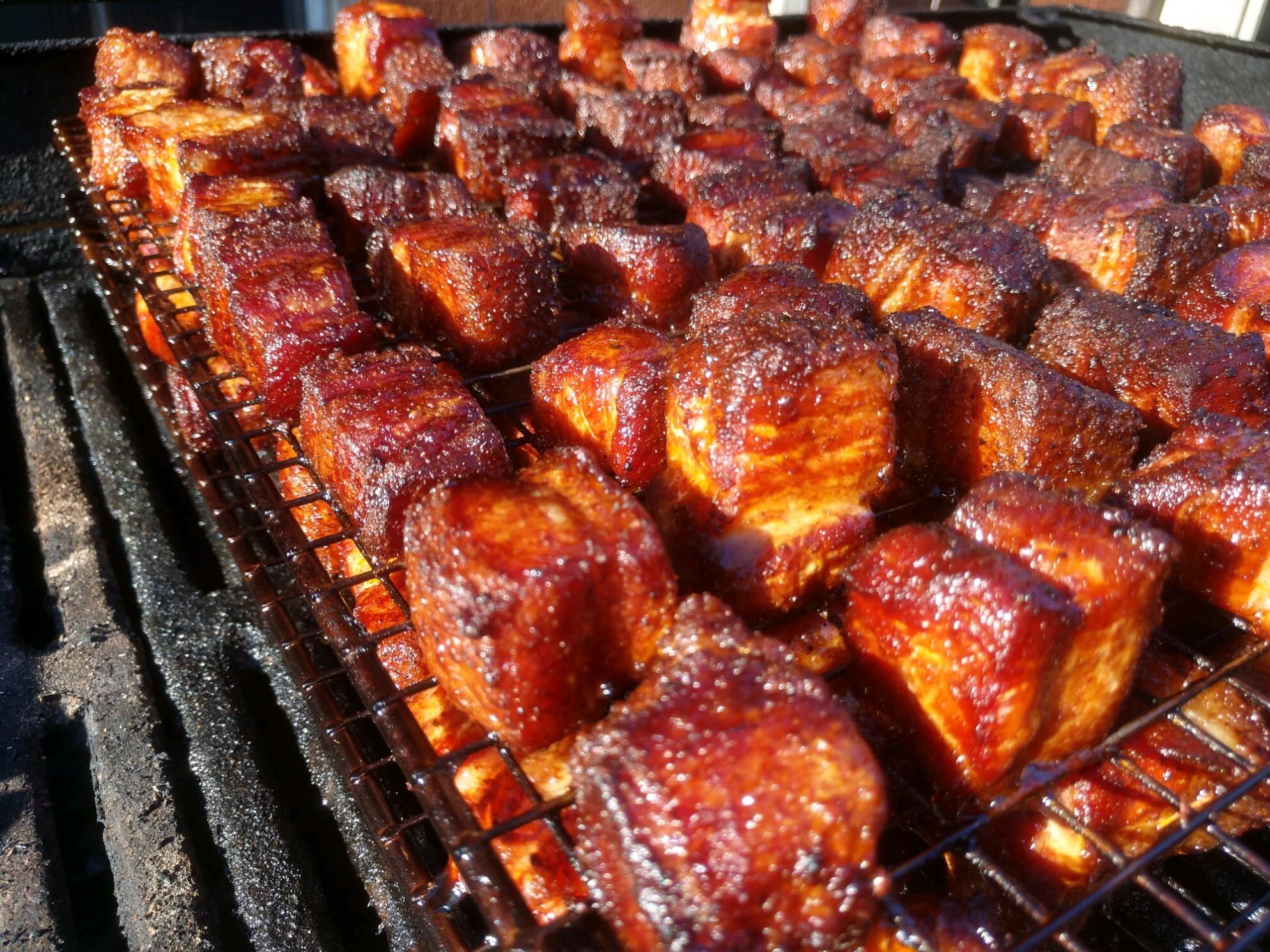 Old Arthur's Pork Belly Burnt Ends