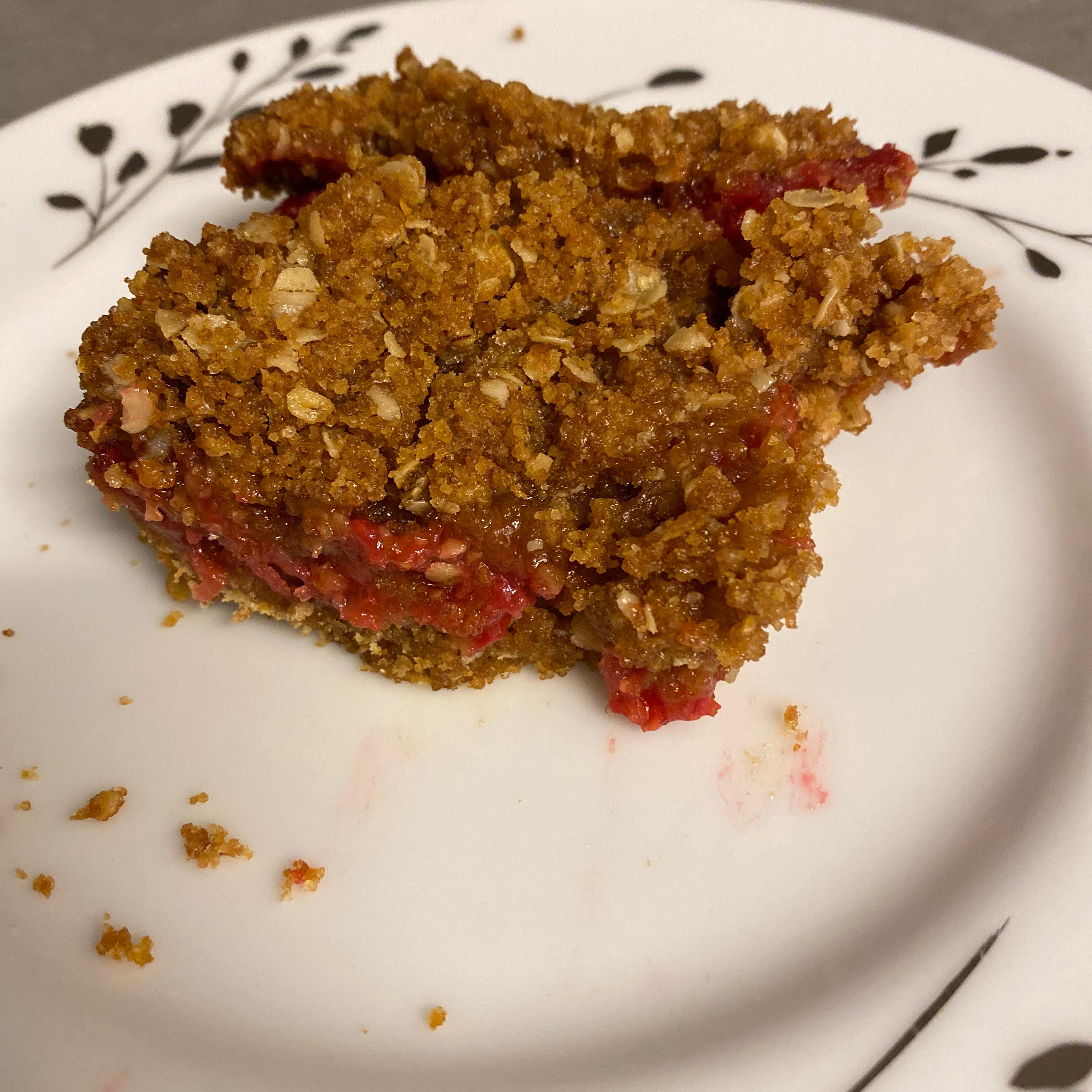 Lemon-Raspberry Oatmeal Crumb Bars Drake Kohn