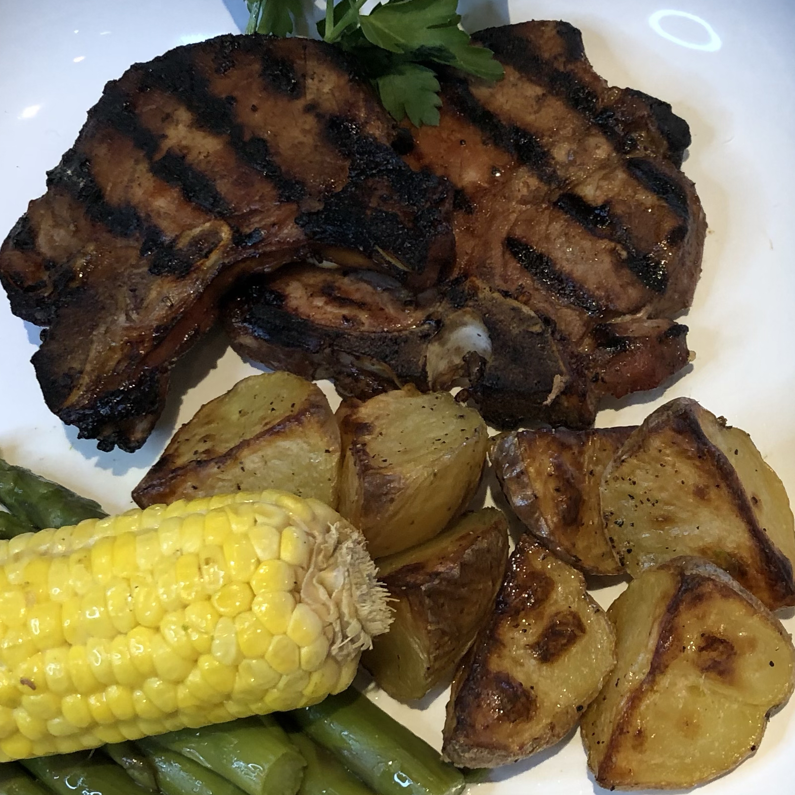 Quick and Easy Grilled Pork Chops Candice