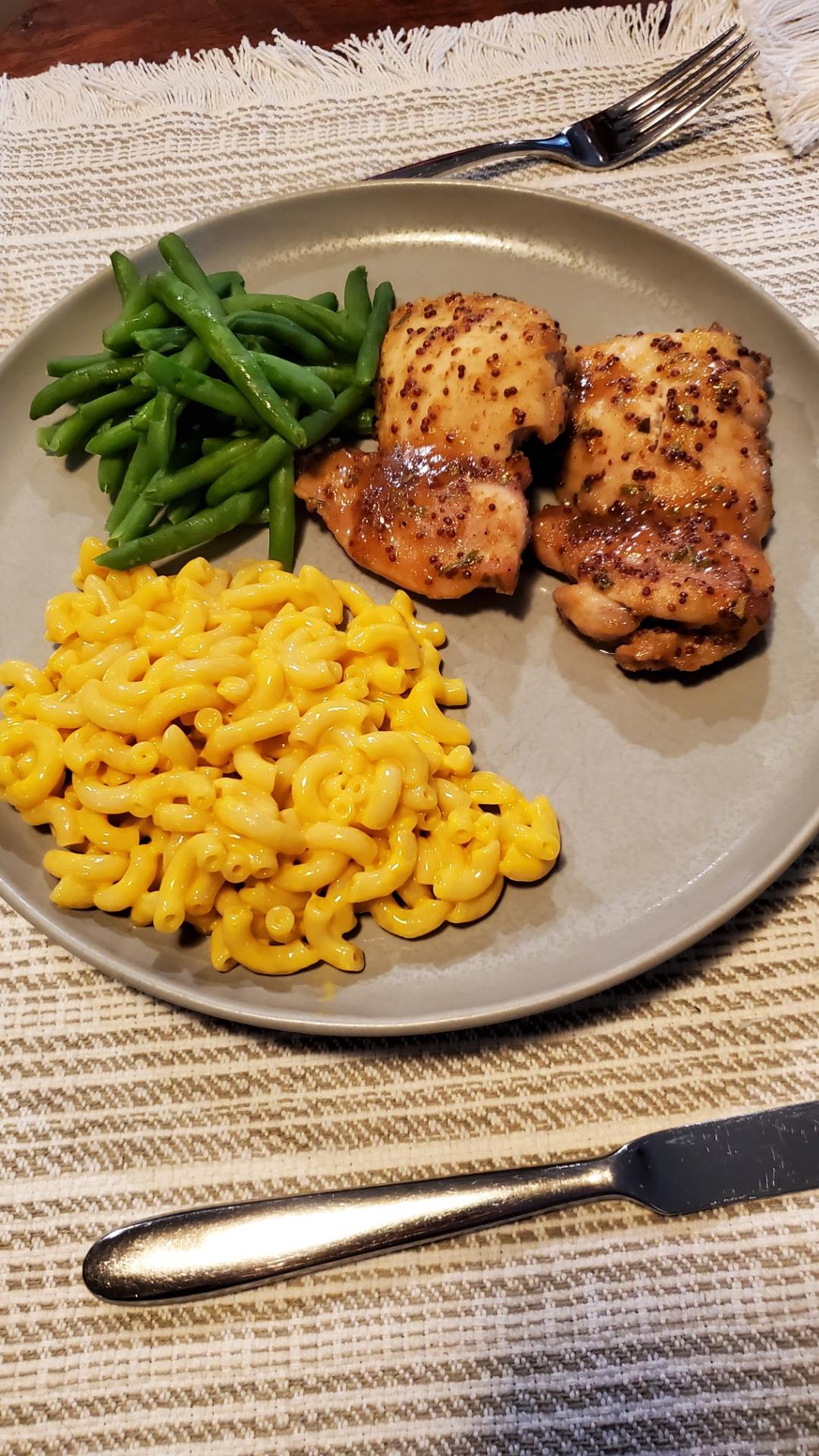 Honey Mustard Chicken Thighs CharmedinCO