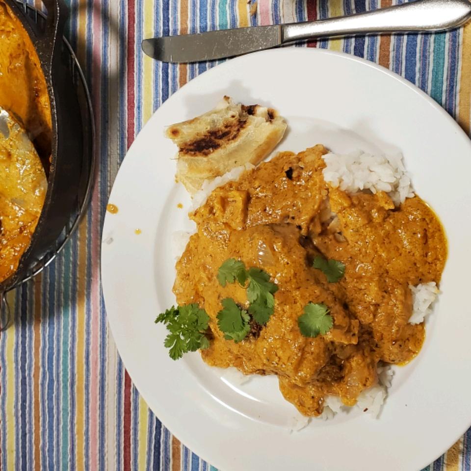 Indian Butter Chicken (Chicken Makhani)