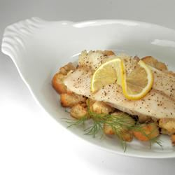 Oven Roasted Trout with Lemon Dill Stuffing Seeker
