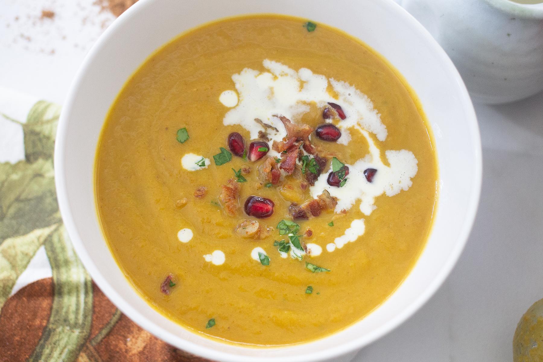 Five-Spice Pumpkin Soup