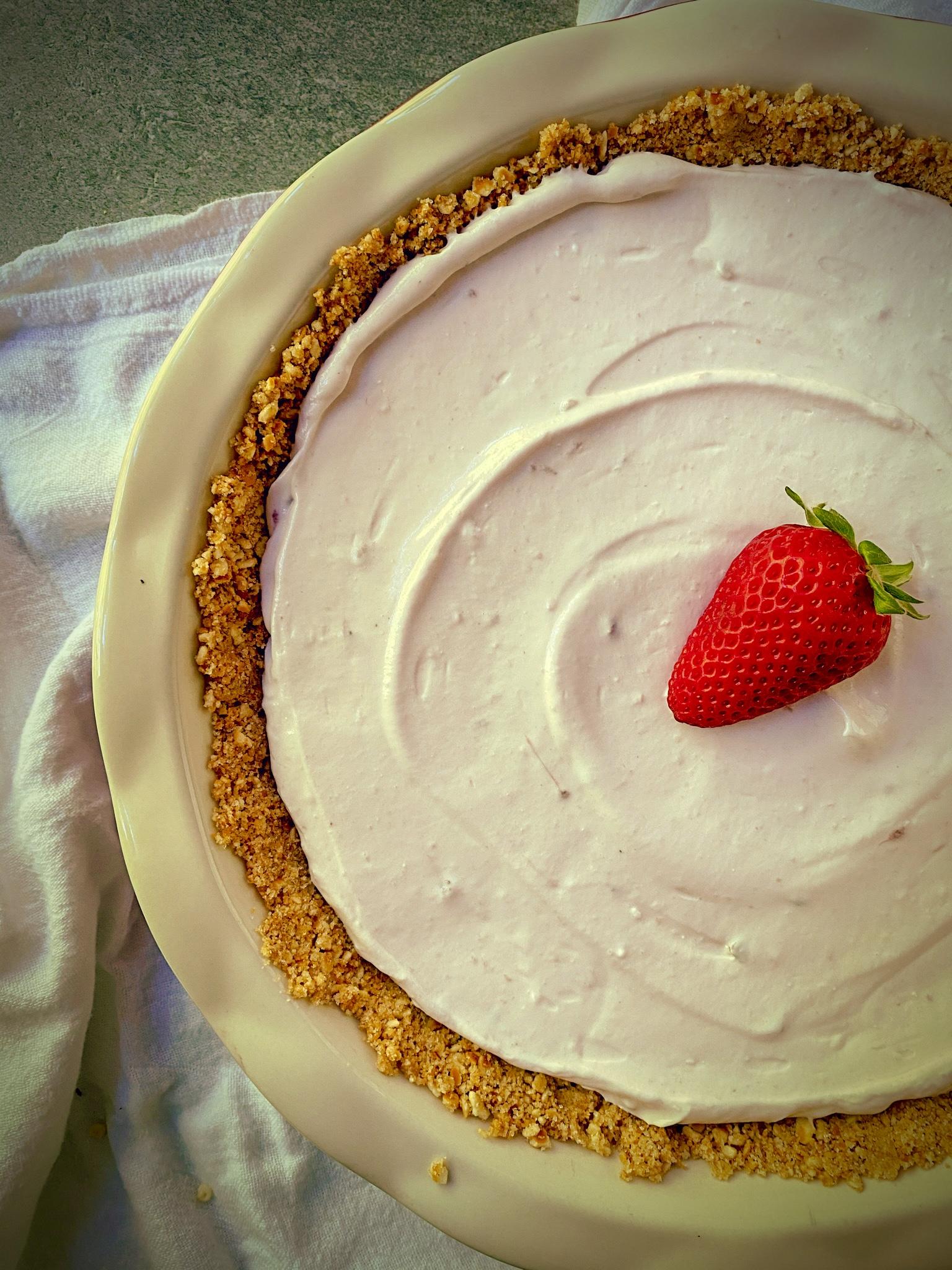 Strawberry Yogurt Pie I