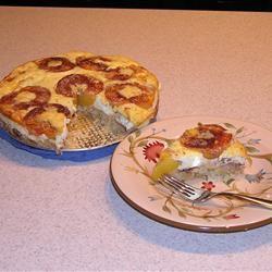 Grandma Sal's Peach Kuchen A. Stratton