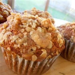 Pumpkin Muffins with Streusel Topping SunnyDaysNora