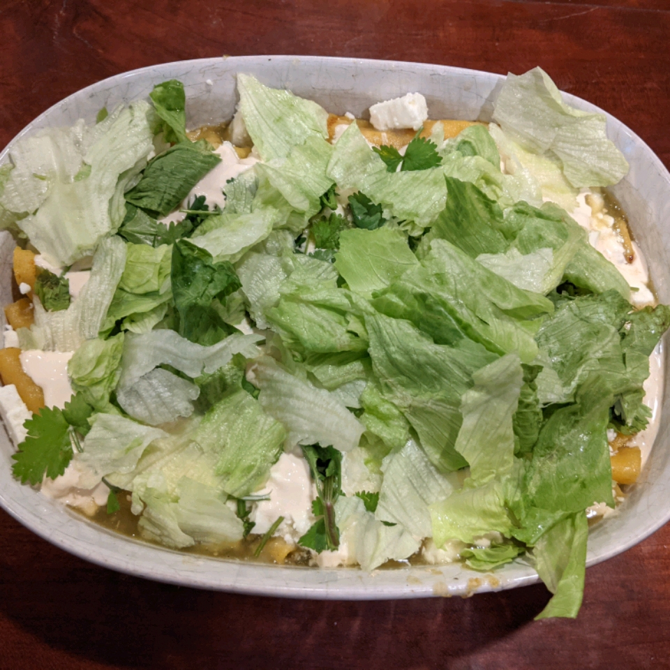 Enchiladas Verdes Frances Smith