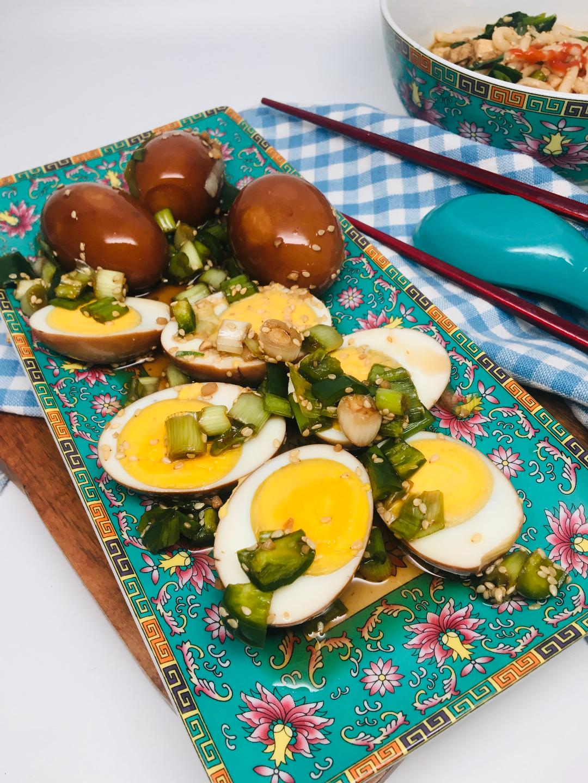 Korean Marinated Hard-Boiled Eggs