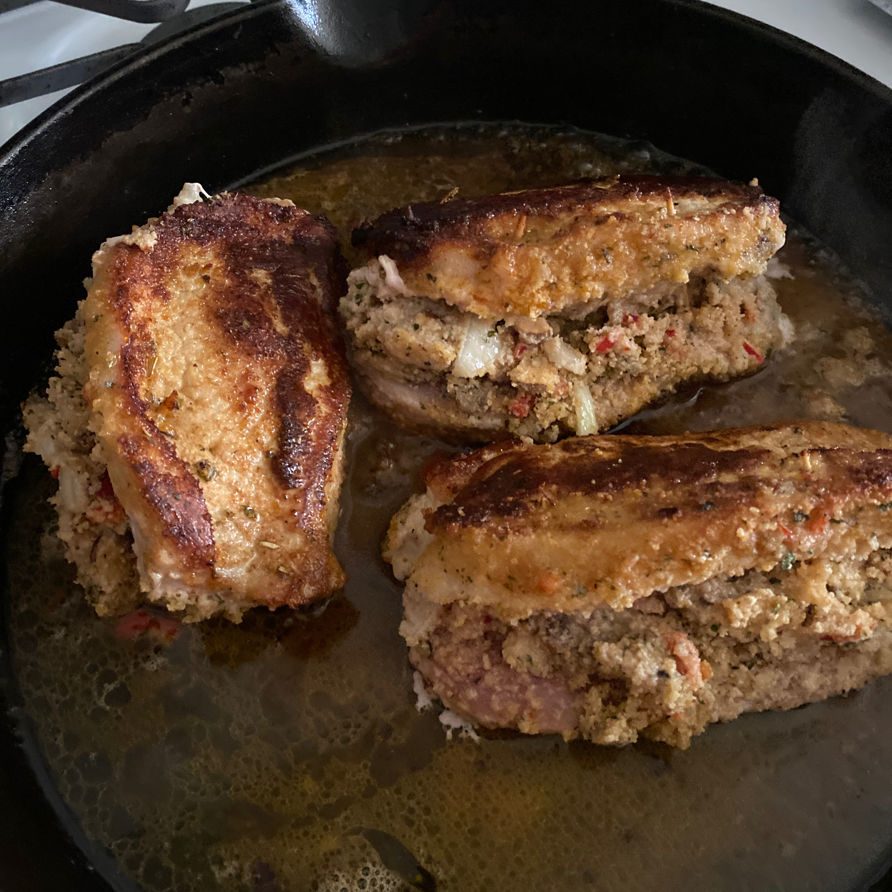 Stuffed Pork Chops III