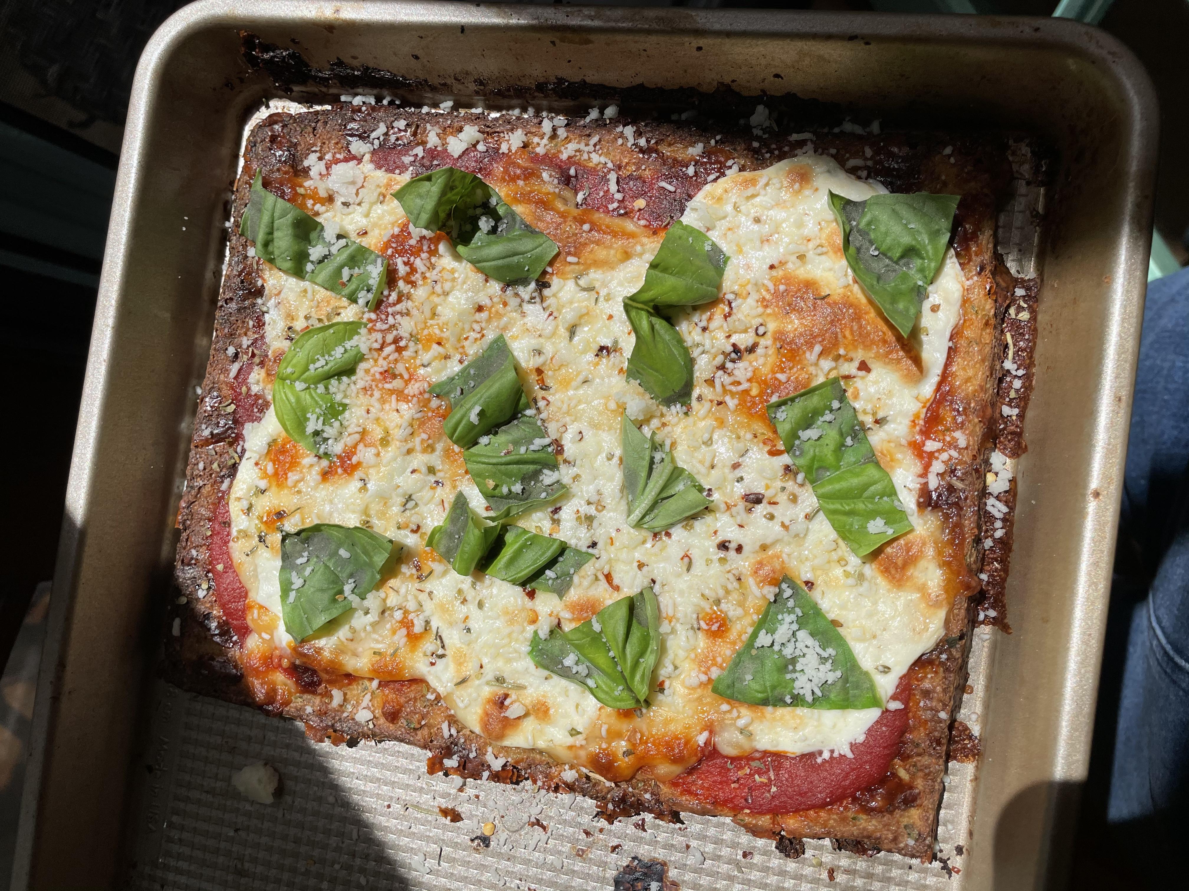 No-Fail Cauliflower Pizza Crust