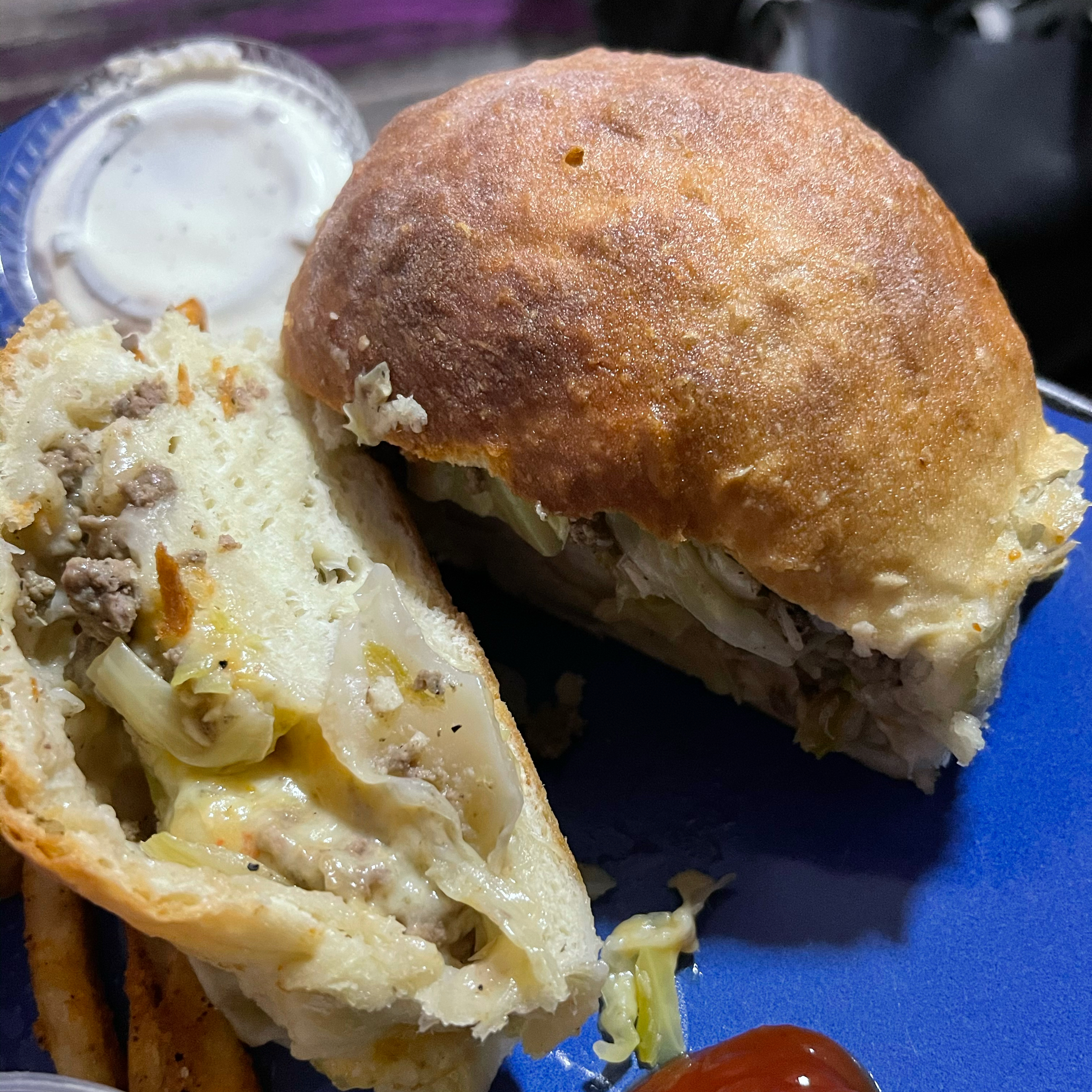 Cabbage Burgers Monet Coleman