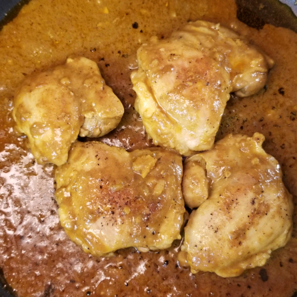 Malaysian Red Curry Thighs Lori Fry