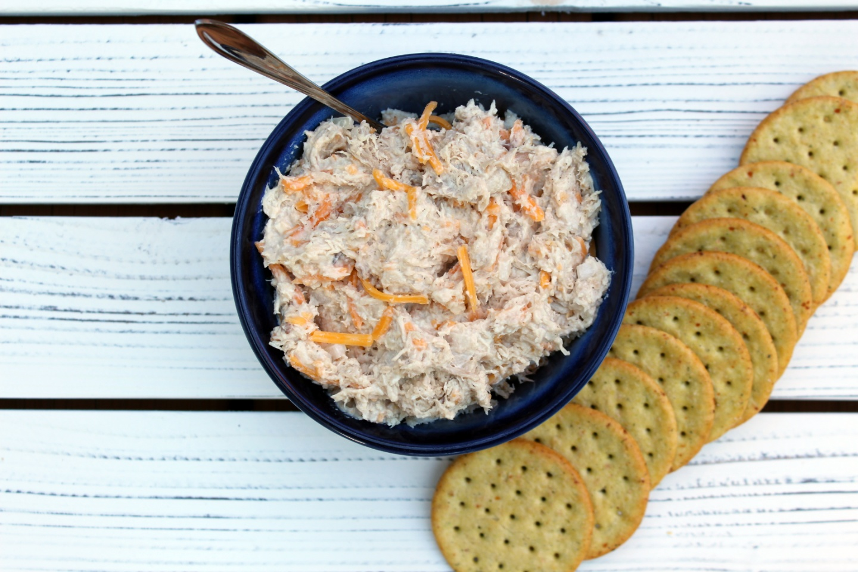 Horseradish-Cheddar Chicken Salad