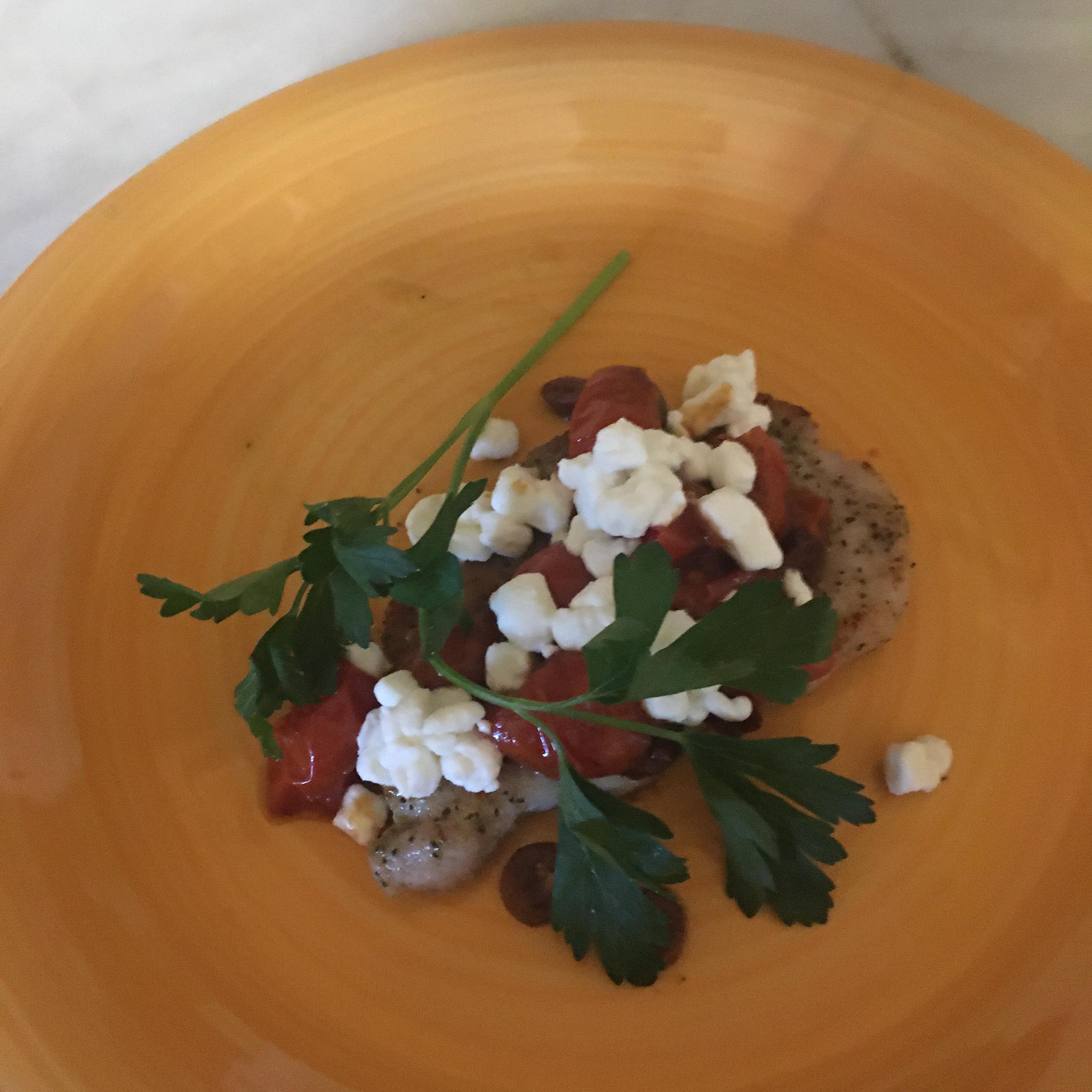 Greek-Inspired Seared Pork Chops Tarmijo